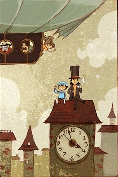 'A Puzzling Tea Time' Professor Layton