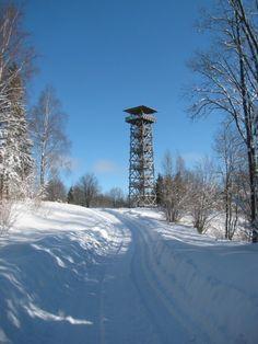 Harimäe observation tower, Estonia