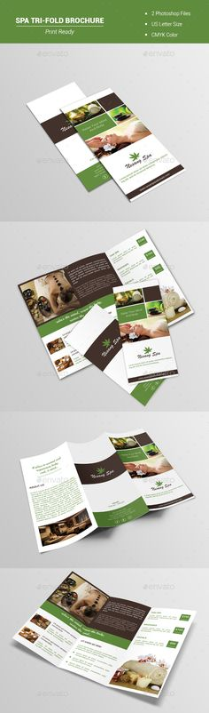 Photography Tri fold Brochure Tri fold brochure template, Tri - advertising brochure template