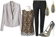 """4 Leather And Lace Outfits That Aren't Too """"Material Girl"""""""