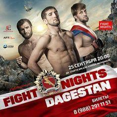 Fight Nights: Dagestan Fightcard