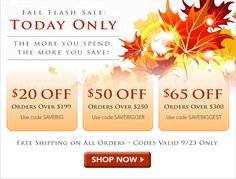 Today Only: Fall Flash Sale at www.DiamondStuds4Less.com! Treat yourself or start your holiday shopping early! You won't find better diamond deals on the web, guaranteed.
