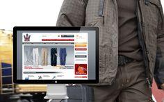Site de e-commerce : vente de vêtements de travail en ligne aouriworkwear.ch/