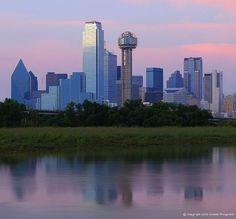 Dallas skyline @ sunrise