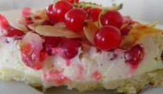 LisaCuisine: Johannisbeer-Kuchen mit Quark und Boden