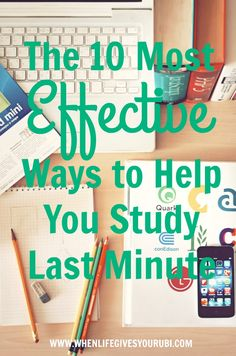 We all procrastinate in college, get an A on your college exams anyways with these 10 tips for last minute studying!!