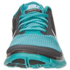 89cecdc32d42 Nike Free 4.0 V3 Mens Midnight Fog White Sport Turquoise  fashion  shoes