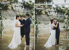 Dreamy Wedding in a River: Lauren + Andrew | Green Wedding Shoes Wedding Blog | Wedding Trends for Stylish + Creative Brides