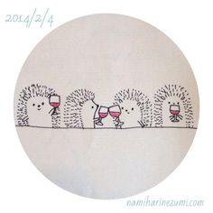 Wine hedgehog