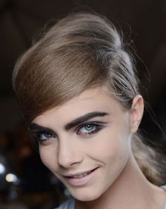 The Best Beauty Looks from NYFW SPRING 2013 — Marc Jacobs: The message about brows is pretty clear: go big this spring.