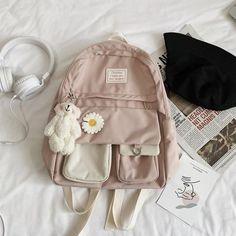Pretty Backpacks, Cute Mini Backpacks, Stylish Backpacks, Girl Backpacks, School Backpacks, Stylish School Bags, Cute School Bags, School Bags For Girls, Girls Bags
