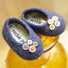 """These are so sweet -- to be knit for a """"someday"""" grandchild."""