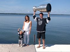 LA Kings' Colin Fraser and every Stanley Cup-winning father's dream  - via Puck Daddy