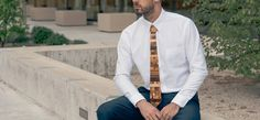 Look great, try our trendy wooden ties!