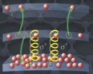 Quando questo materiale è immerso in un campo magnetico, i suoi elettroni opportunamente stimolati si comportano in modo anomalo, liberando i livelli di energia che invece dovrebbero occupare e occupandone altri che invece dovrebbero lasciare liberi. Questo fenomeno apre la porta a laser sintonizzabili in tutta la banda dall'infrarosso a frequenze vicine alle microonde