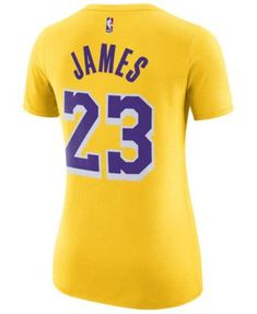 4da2cbd5707 Nike Women LeBron James Los Angeles Lakers Name   Number Player T-Shirt