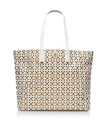 Kelsey Tote by Tory Burch.  I love the intricate cutout leather design.  I wish I was more impressed with the quality of TB bags... I don't dare buy this based on past experience.