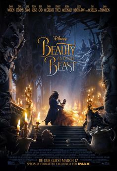 Beauty and the Beast (2017) I think it's safe to say I'm in love with this movie, considering I saw it twice within 24 hours. The acting, costumes, and soundtrack were all flawless. This movie brings to life the spirit of love and hope
