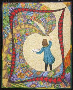 Blue Moon River: International Quilt Festival – Houston 2012, Part 2 Color my World ...with Quilts! by Sharon Schlotzhauer