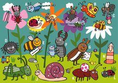 Praatplaat insecten