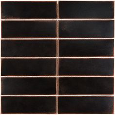 Satin Metal Tile Collection x Stacked Mosaic - Oil Rubbed Bronze Mirror Tiles, Sheet Sizes, Oil Rubbed Bronze, Bronze Finish, Square Feet, Types Of Metal, Tile Floor, Satin, This Or That Questions
