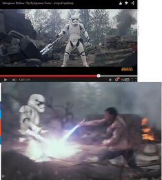 What is this First Order weapon that can block a lightsaber? Lightsaber Fight, Mandalorian Cosplay, Battle Droid, First Order, Science Fiction, Star Wars, Scene, Animation, Movie Posters