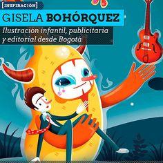 Ilustración y personajes de GISELA BOHÓRQUEZ Ilustración infantil, publicitaria y editorial desde Bogotá.  Leer más: http://www.colectivobicicleta.com/2013/07/Ilustracion-de-GISELA-BOHORQUEZ.html#ixzz2Yr86QEi3
