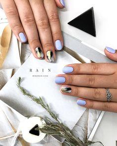 Маникюр на короткие ногти гель-лаком: 20 стильных идей — Женский журнал Лиза — стильный женский сайт для современной женщины