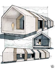 Pavilion #arquitetapage #arch_more #arquisemteta #arqsketch #architecture #next_top_architects #archilovers #sketchers #sketchbook #urbansketch #modernarchitecture #design #axonometric #illustration #graphics #drawing #perspective #architecture_hunter...