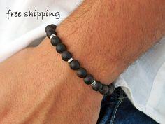 Mens bracelet,Unisex bracelet,Aquilaria wood bracelet,Beaded bracelet,Stretch bracelet,Gemstone bracelet,Energy bracelet,Yoga bracelet