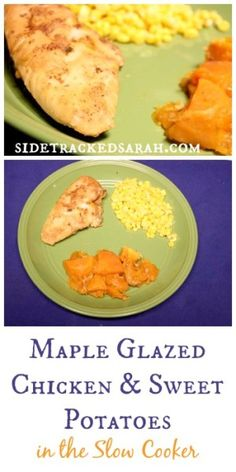 Maple Glazed Chicken