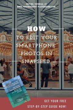 How to Edit your Smartphone Photos with Snapseed - Photography, Landscape photography, Photography tips Wildlife Photography Tips, Iphone Photography, Mobile Photography, Photography Tutorials, Amazing Photography, Photography Composition, Photography Basics, People Photography, Nature Photography