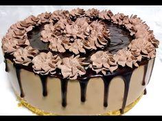 تشيزكيك الشوكولاته والكريمة بدون فرن- قدرة قادر Cheese Cake - YouTube