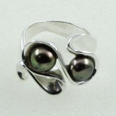Pearl Stone Attractive Design 925 Sterling Silver Ring by JaipurSilverIndia on Etsy
