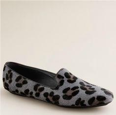 leopard loafs