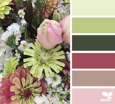{ flora hues } image via: @designseeds