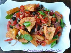 Panzanella Tuscan Bread Salad - A Cookbook Collection 1