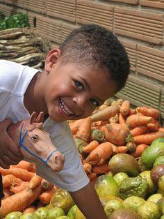 alegria. Comuna 1 de Medellin Colombia