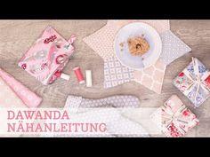 DaWanda Nähanleitung: 3 schnelle Geschenke für Weihnachten nähen - YouTube