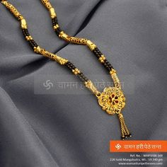 Simply #attractive #designer #traditional gorgeous beauteous #gold #mangalsutra from our spectacular collection.  #mumbaiweddings #marathiwedding #indianwedding  Click here for more of our collection : http://bit.ly/1hfZrZe