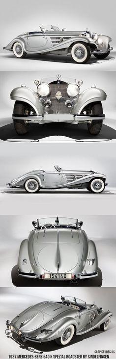 1937 mercedes benz 540 k spezial roadster by sindelfingen mybsisboss