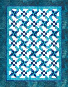 Spinning Pinwheels Quilt Pattern SDD-103e (electronic download)