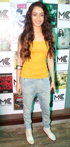 Shraddha Kapoor at Mukesh Chhabra's casting studio launch.