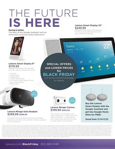 Lenovo Black Friday 2018 Ads and Deals Browse the Lenovo Black Friday 2018 ad scan and the complete product by product sales listing. Black Friday News, Coupons, Ads, Coupon