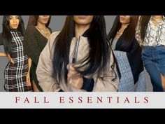 Fall Essentials Try-On Haul ▸ VICKYLOGAN