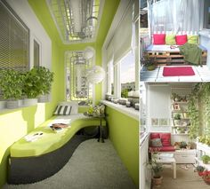 10 Big Ideas to Decorate a Small Space Balcony - http://www.amazinginteriordesign.com/10-big-ideas-decorate-small-space-balcony/