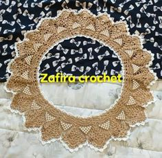 Crochet Lace Collar, Frame, Decor, Picture Frame, Crochet Collar, Decoration, Decorating, Frames, Deco
