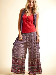 NOMADS Purple Festival Trousers RD17