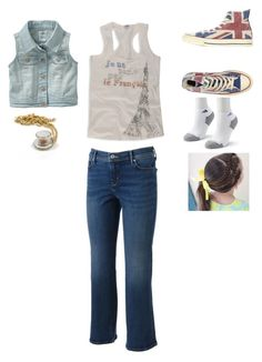 """Untitled #3974"" by abigailloveschocolate ❤ liked on Polyvore featuring Levi's, Converse, adidas, Forever 21, Old Navy and Kismet"