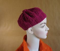 Winter Hat  Knit Hat  Slouchy Beanie  Beanie  by recyclingroom